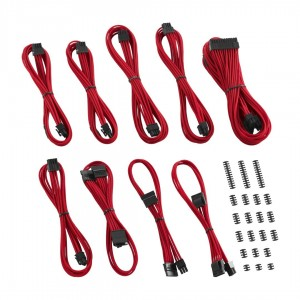 CableMod Classic ModMesh RT-Series Cable Kit for ASUS ROG Thor - RED (CM-RTS-CKIT-NKR-R)
