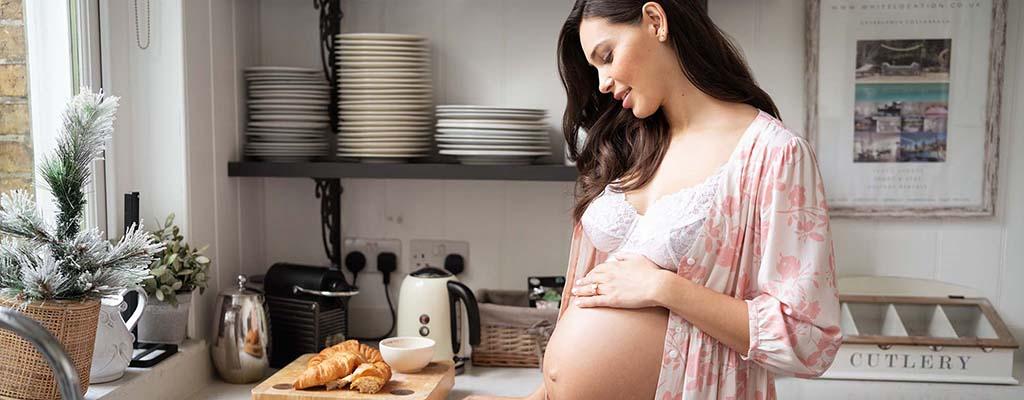妊娠中、産後のマタニティルームウェア、マタニティパジャマ、授乳パジャマ、病院着にも快適・スタイル良く