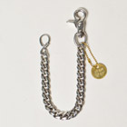 "US Exclusive/""Simple & Plain""Heavy Gauge Wallet Chain/Regular(アス ヘビーゲージウォレットチェーン)シルバー [n-9054]"